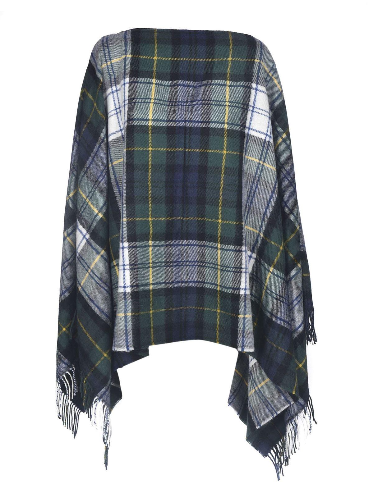 Comme Des Garçons Shirt Scarves CHECK PATTERNED SCARF