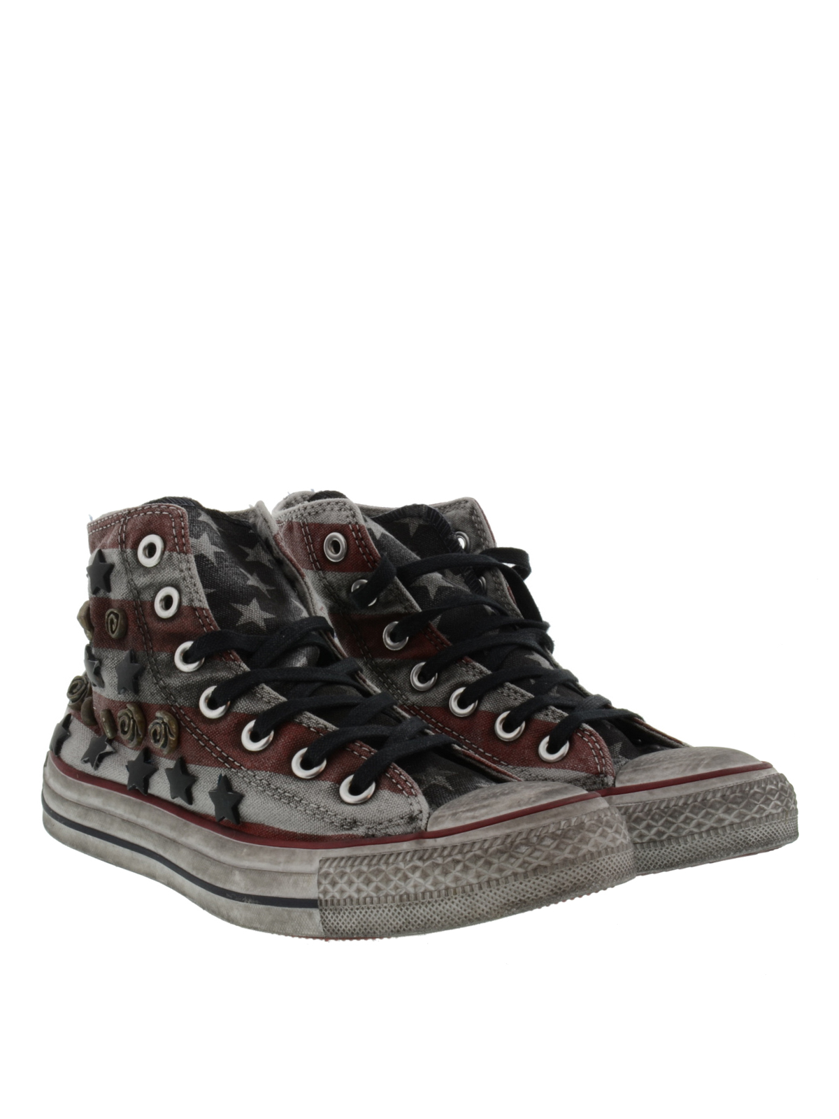 studded america sneakers by converse limited edition. Black Bedroom Furniture Sets. Home Design Ideas
