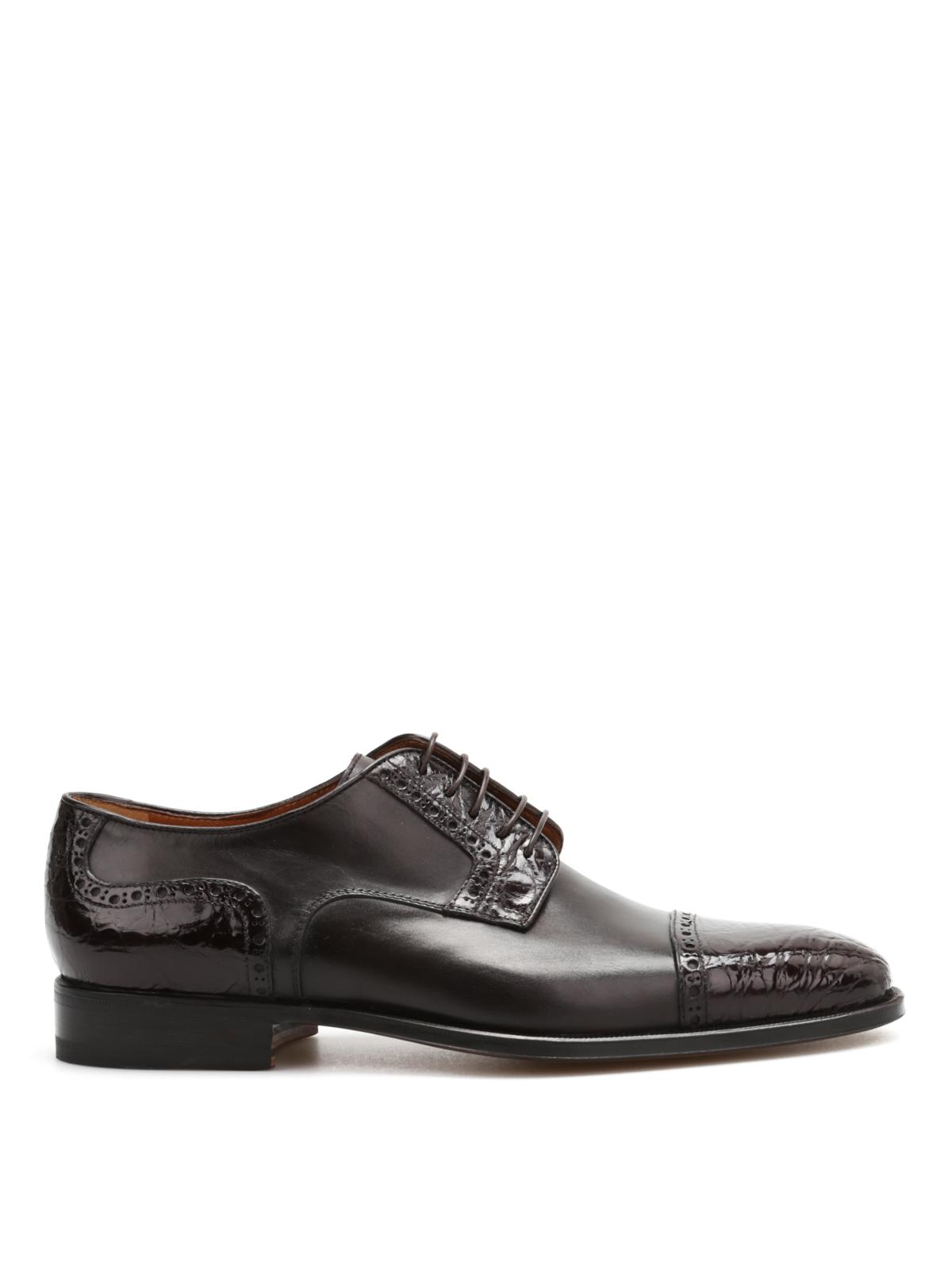 Corneliani Classique Chaussures À Lacets - Marron xrgkMag