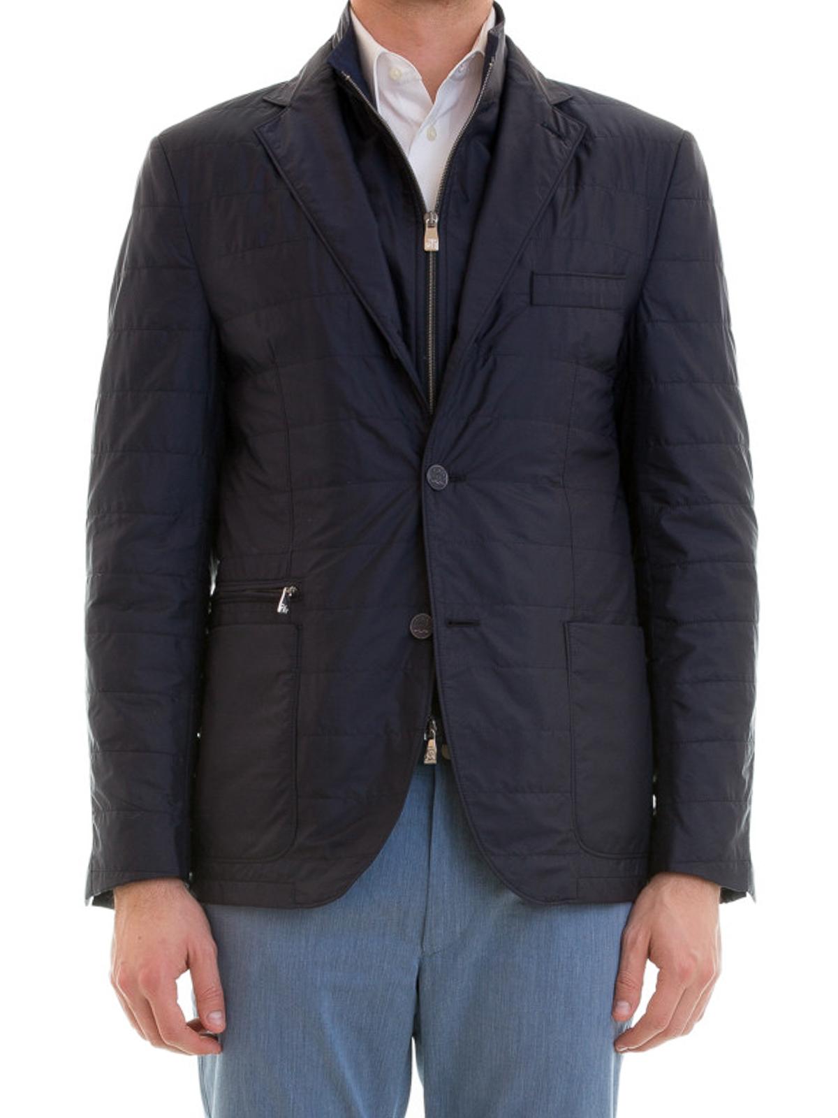 eb7bd1e2bb Corneliani - Giacca con pettorina removibile - giacche casual ...
