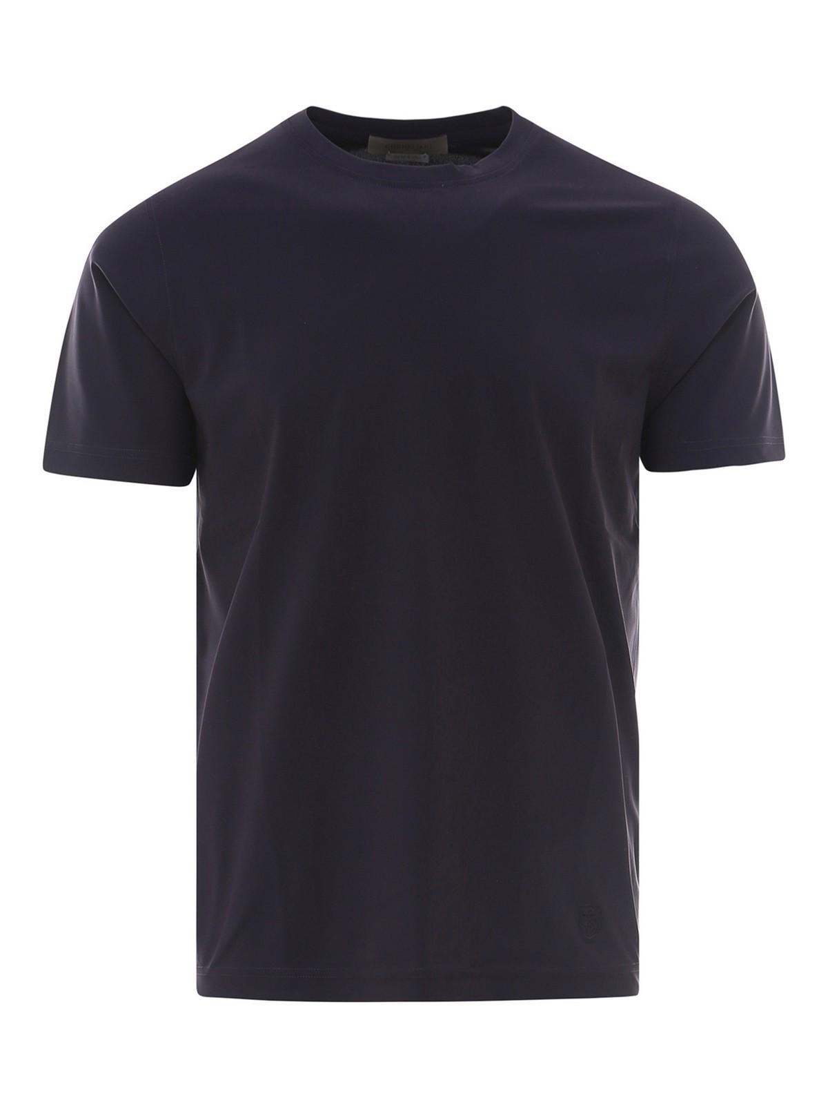 Corneliani T-shirts TECHNICAL T-SHIRT