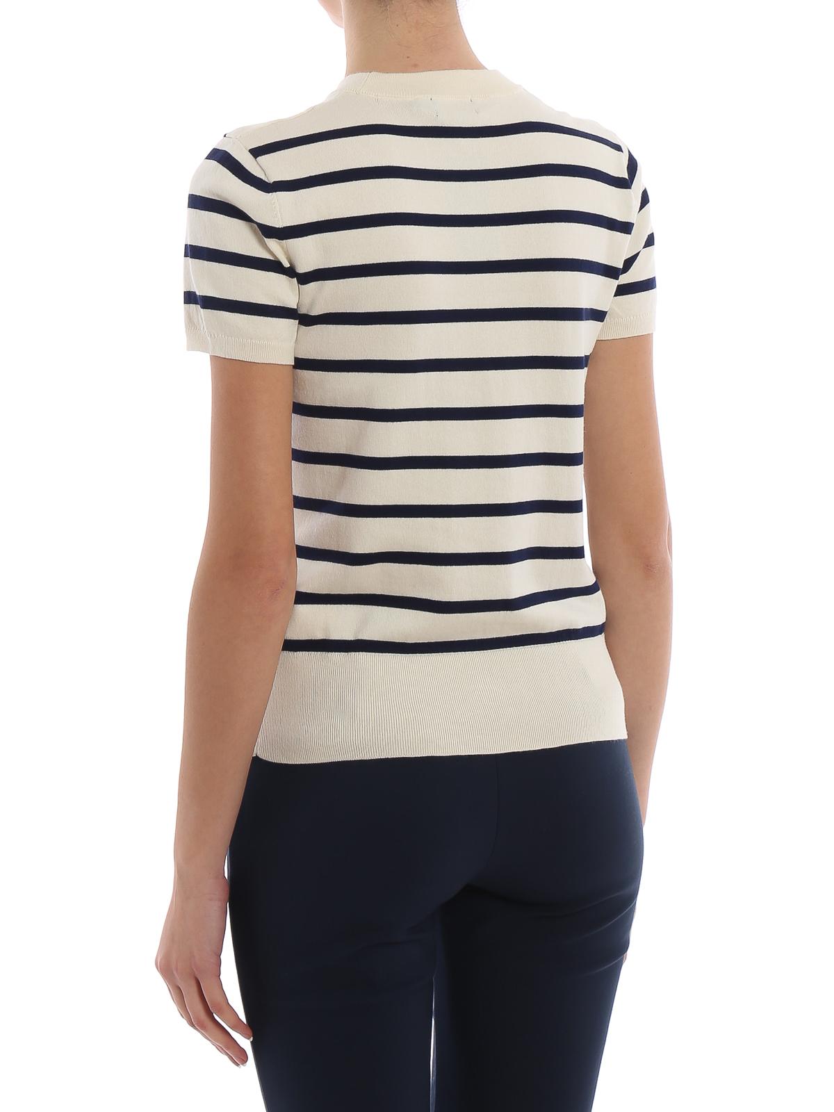 eb1988f7 Polo Ralph Lauren - Cotton blend striped crew neck - crew necks ...