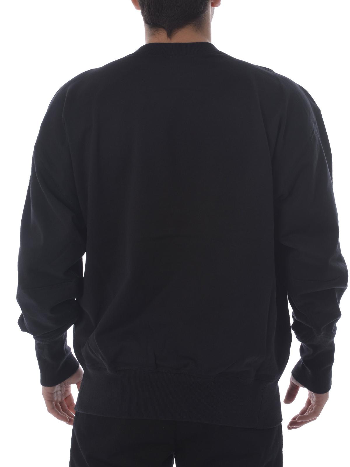quality design 83faa d3b67 Cotton oversized logo sweatshirt shop online  ADIDAS Y-3