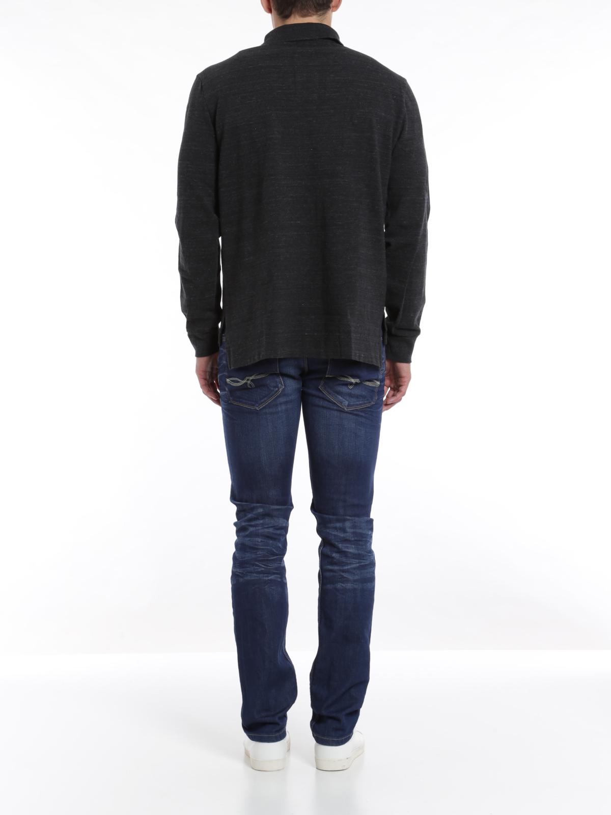 Polo Ralph Lauren - Poloshirt mit langen Ärmeln - Poloshirts - A12 ... e682353e71