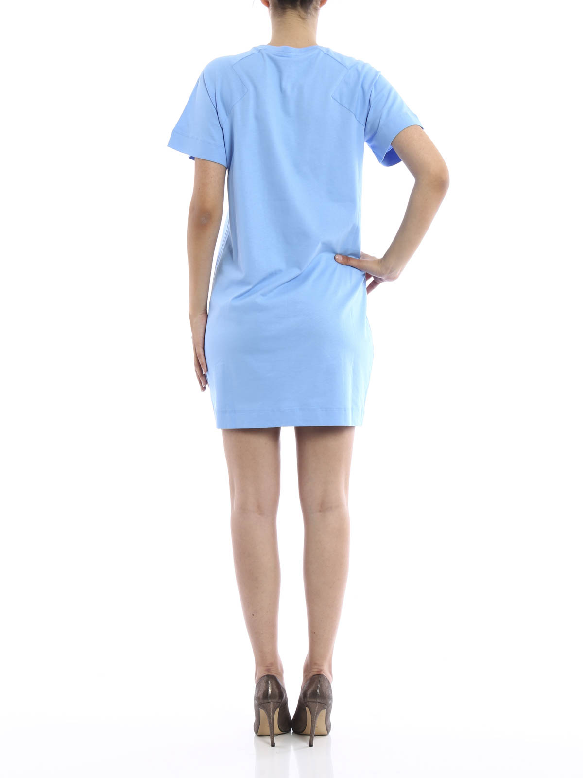 Kenzo - Cotton T-shirt dress - short dresses ...