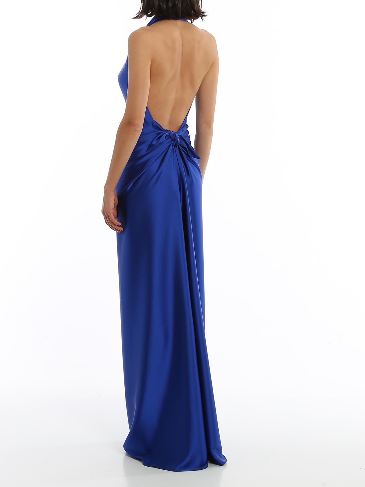 Paolo Fiorillo Abendkleid Blau Abendkleider 1615130556847