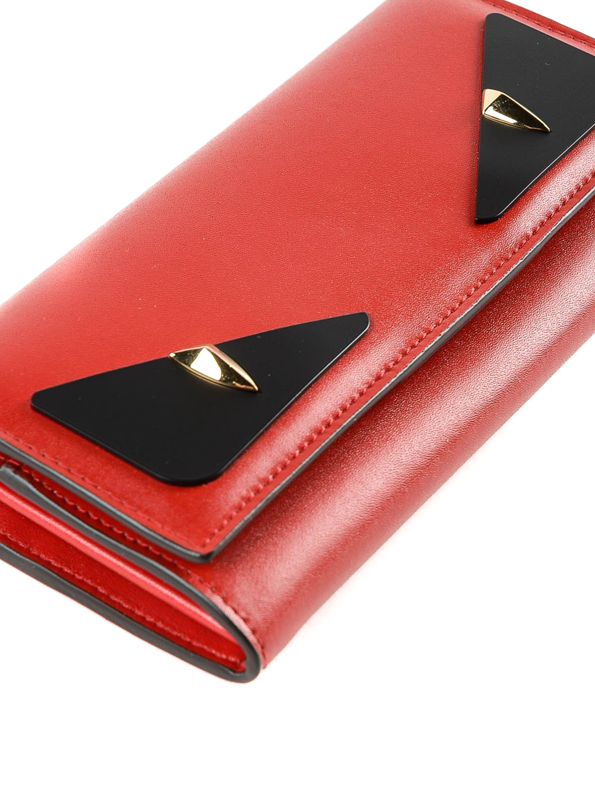 5e57da26d4 Fendi - Crayons red leather continental wallet - wallets & purses ...