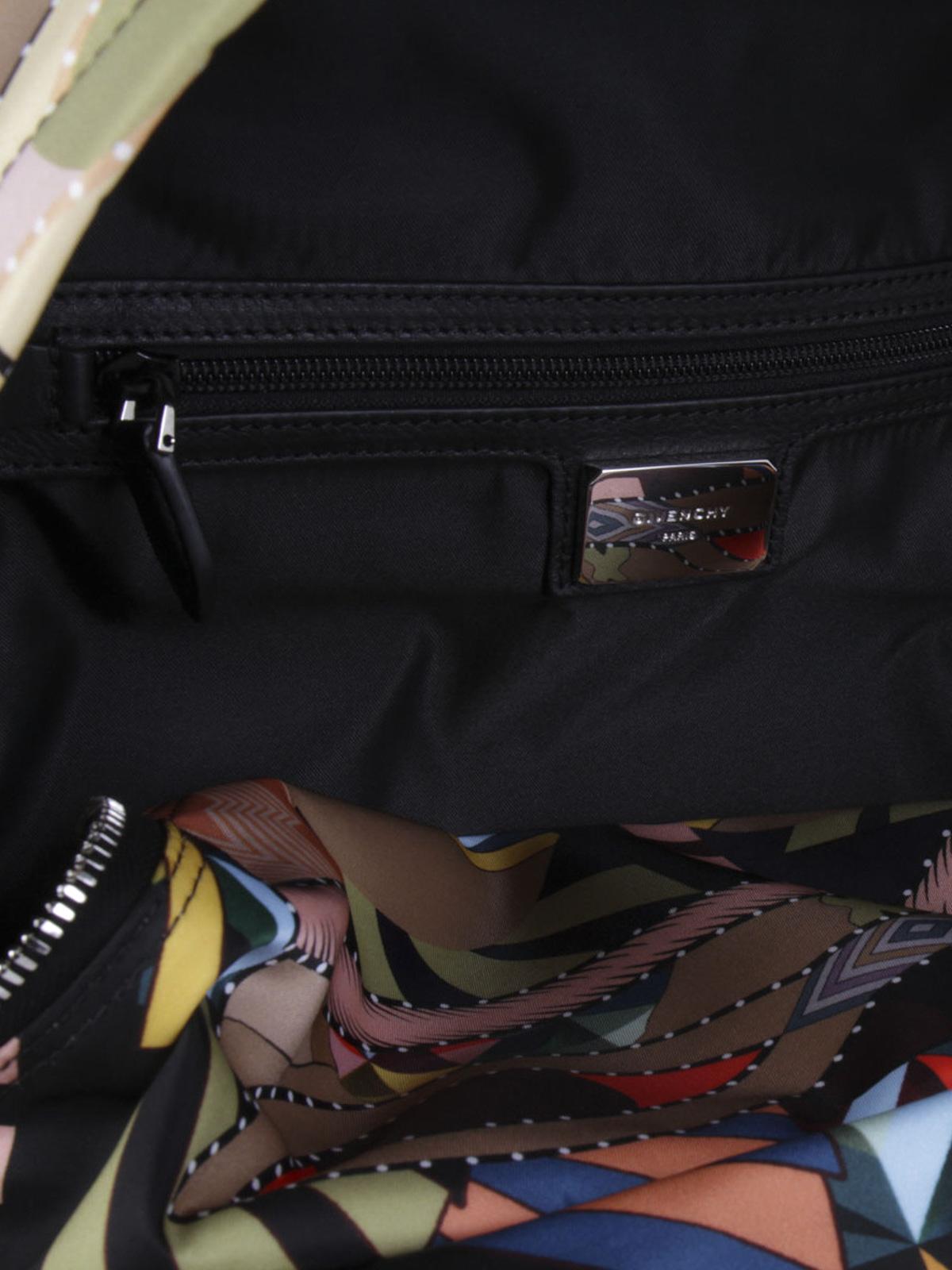 e010c3accc Givenchy - Crazy Cleopatra nylon backpack - backpacks - BJ05764196 960