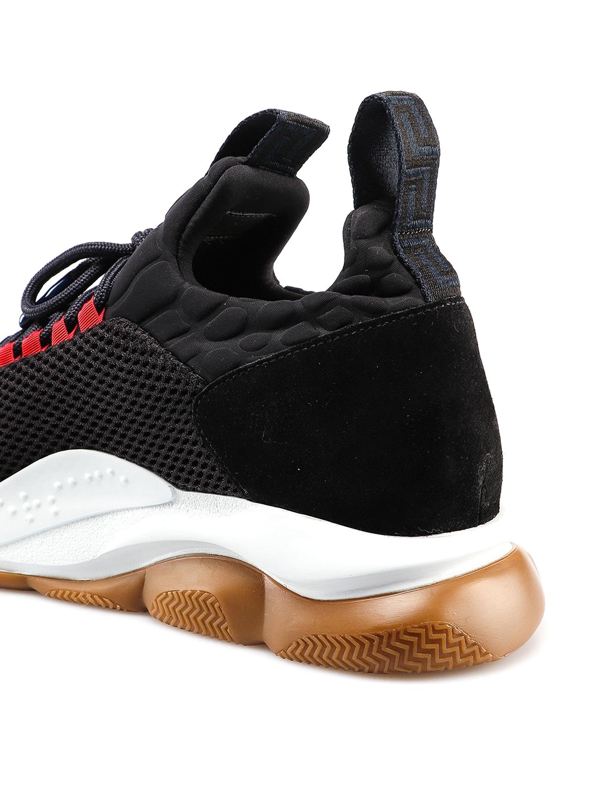 Versace - Cross Chainer black sneakers