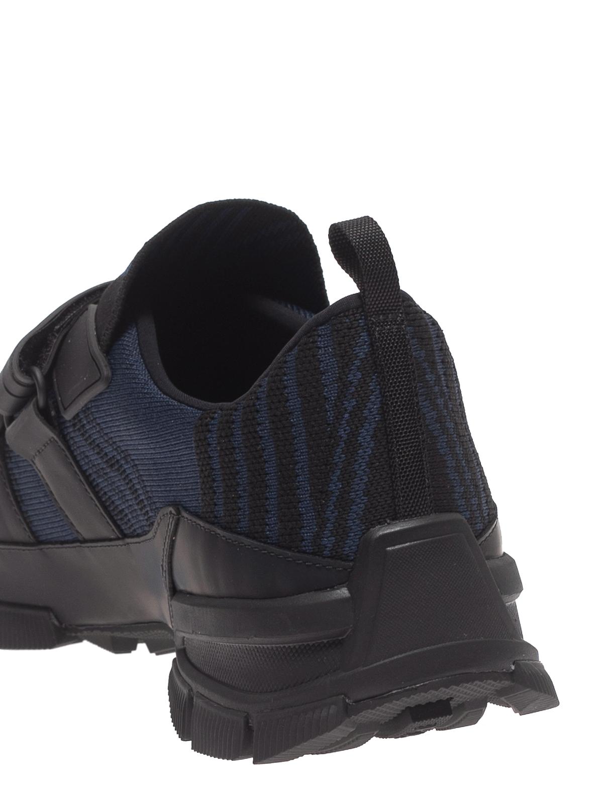 Prada - Crossection knit sneakers