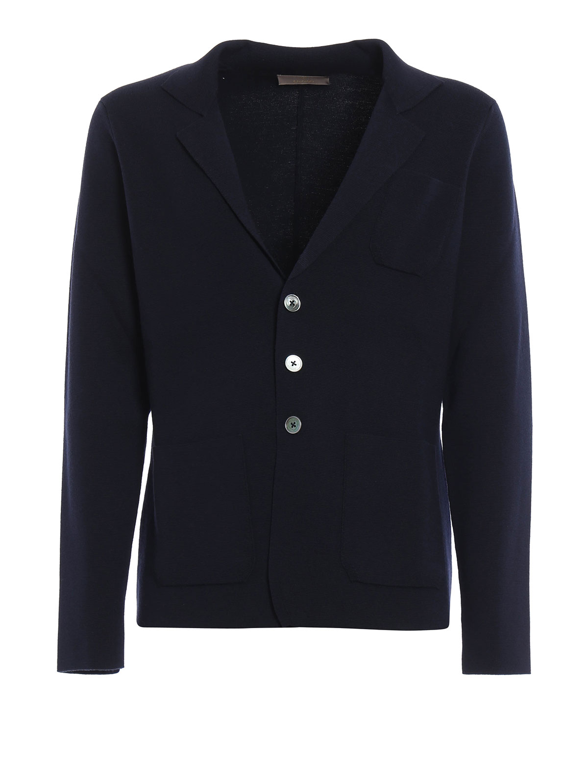 new product 94993 eee15 Cruciani - Blazer destrutturato in lana - giacche blazer ...