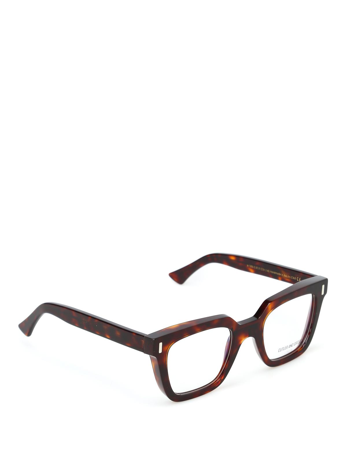 negozio online d6b05 5e252 Cutler And Gross - Occhiali da vista super spessi lenti ...