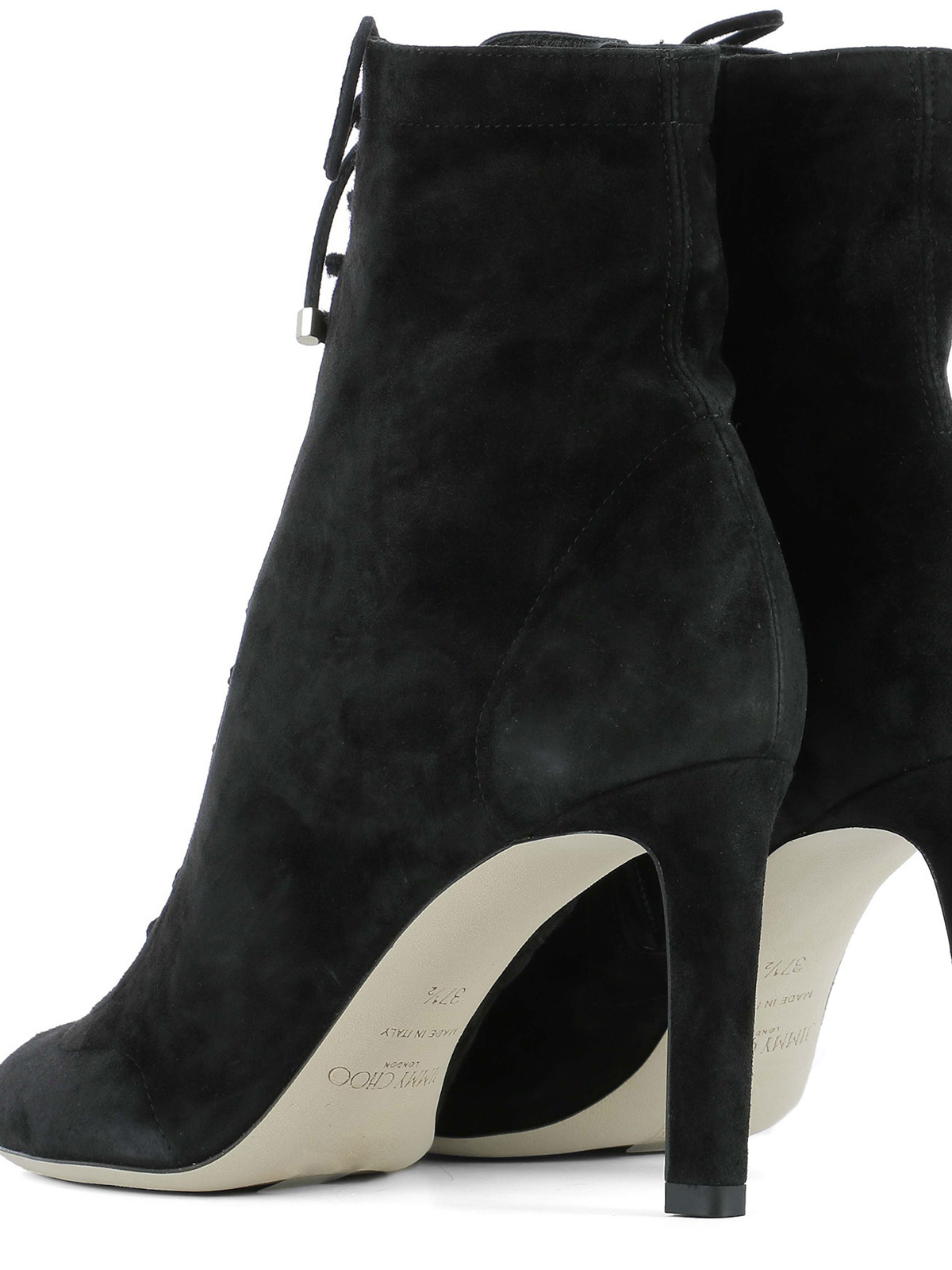 af8e056d970 Jimmy Choo - Daize lace-up suede booties - ankle boots - DAIZE 85 ...