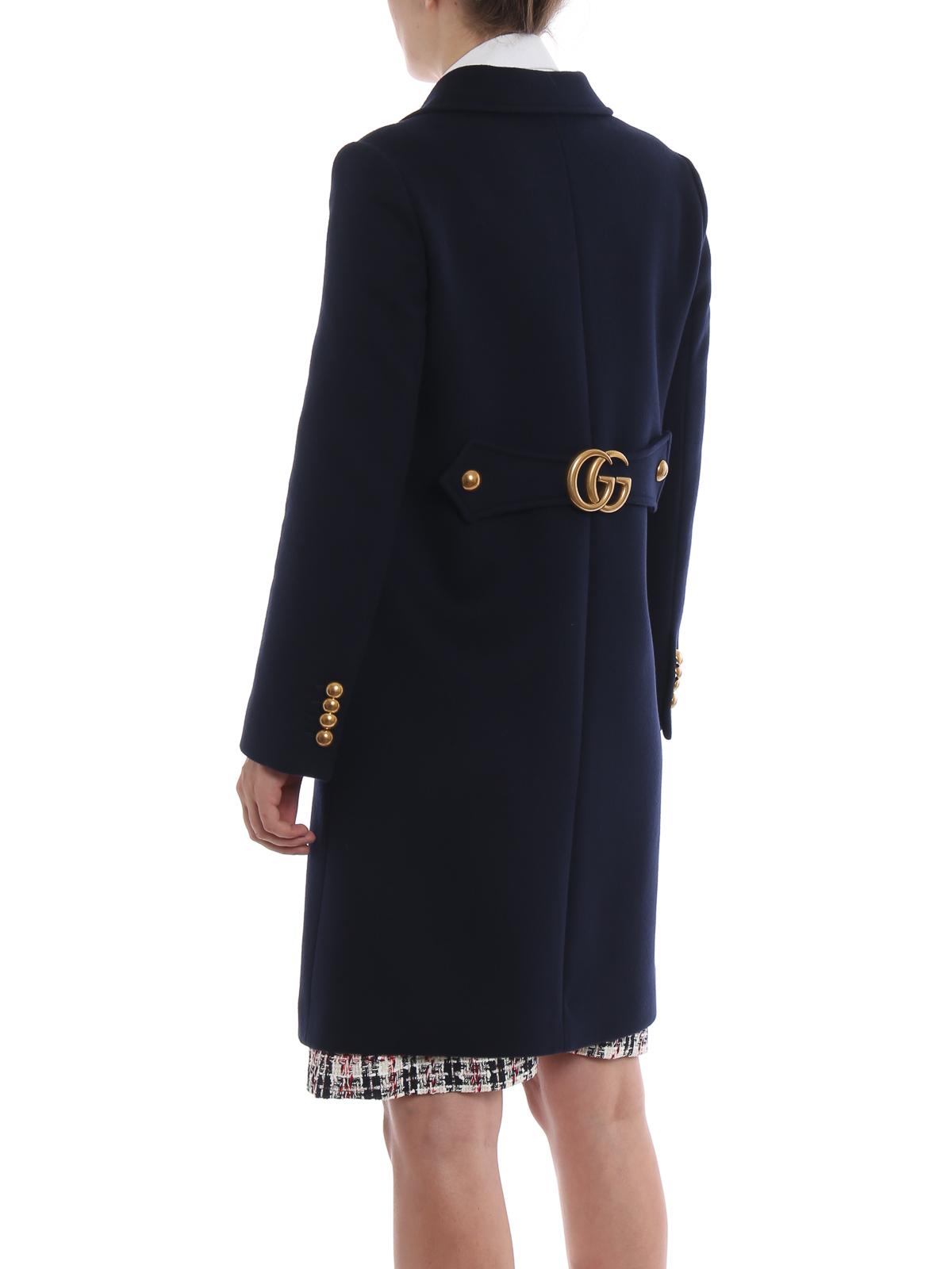5f74b6c4dc Gucci - Abrigo Corto - Azul Oscuro - Abrigos cortos - 494500ZHW034474