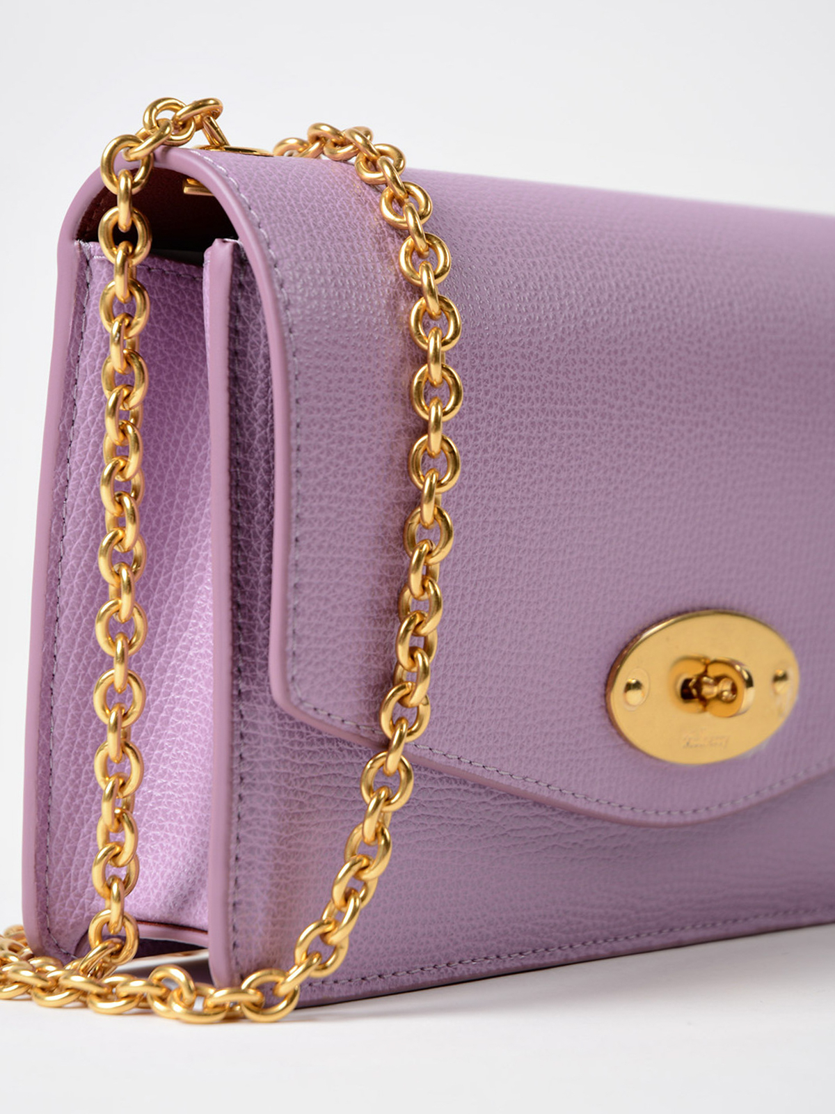 e1e53751a51 Mulberry - Darley lilac leather small clutch - clutches - RL5270690V110