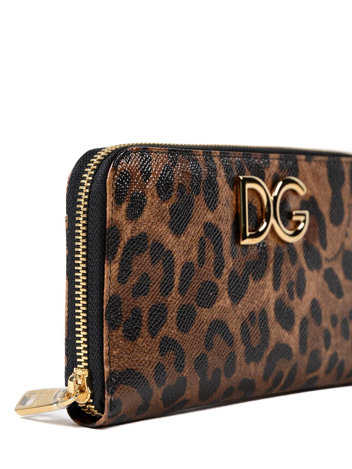 5ddfec2331 Dolce & Gabbana - Portafoglio continental maculato - portafogli ...