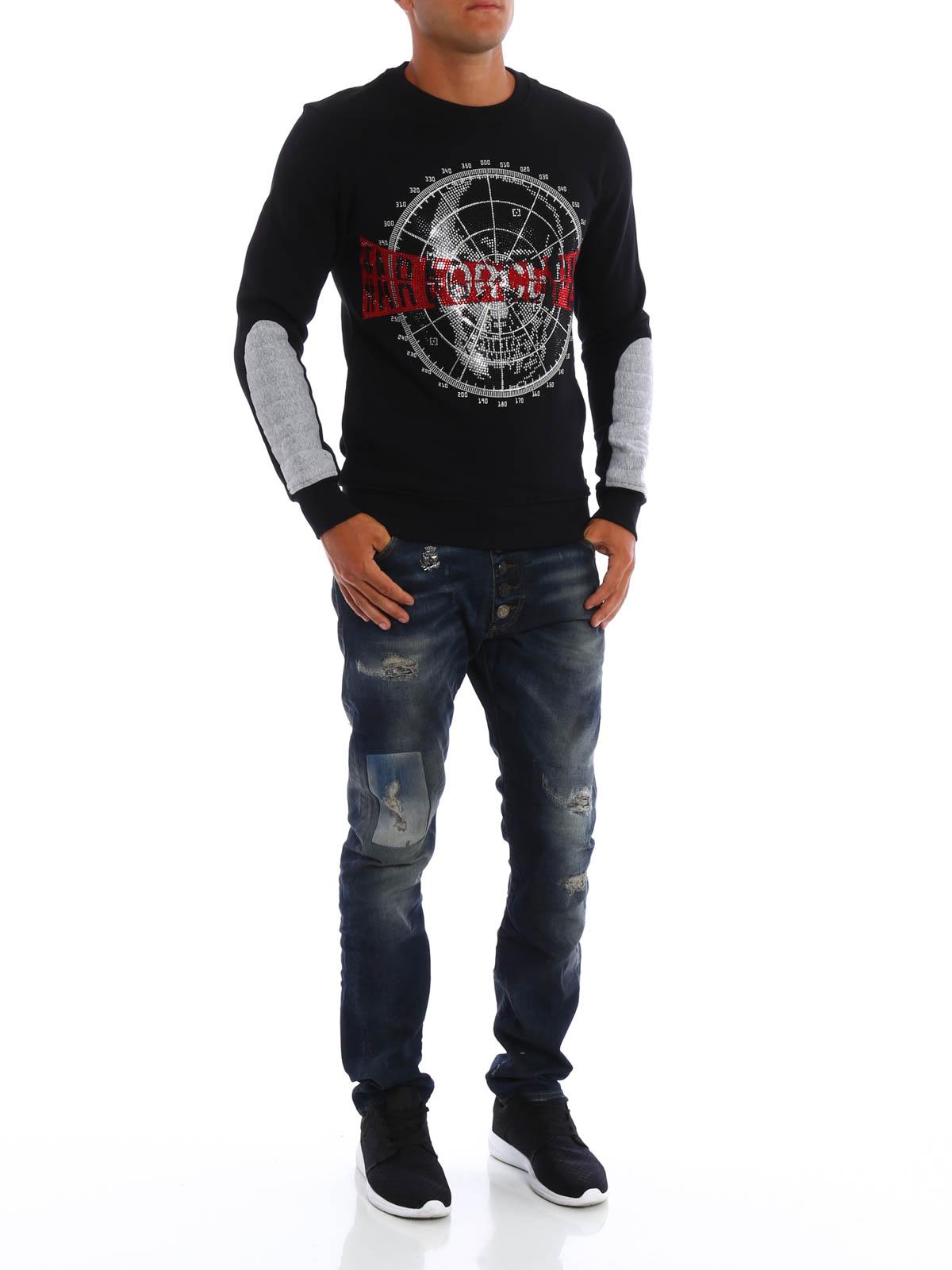 Pulls Sweatshirt amp; 02 Hm631094 Deerfield Plein Sweatshirts Philipp qfpOzXUwq