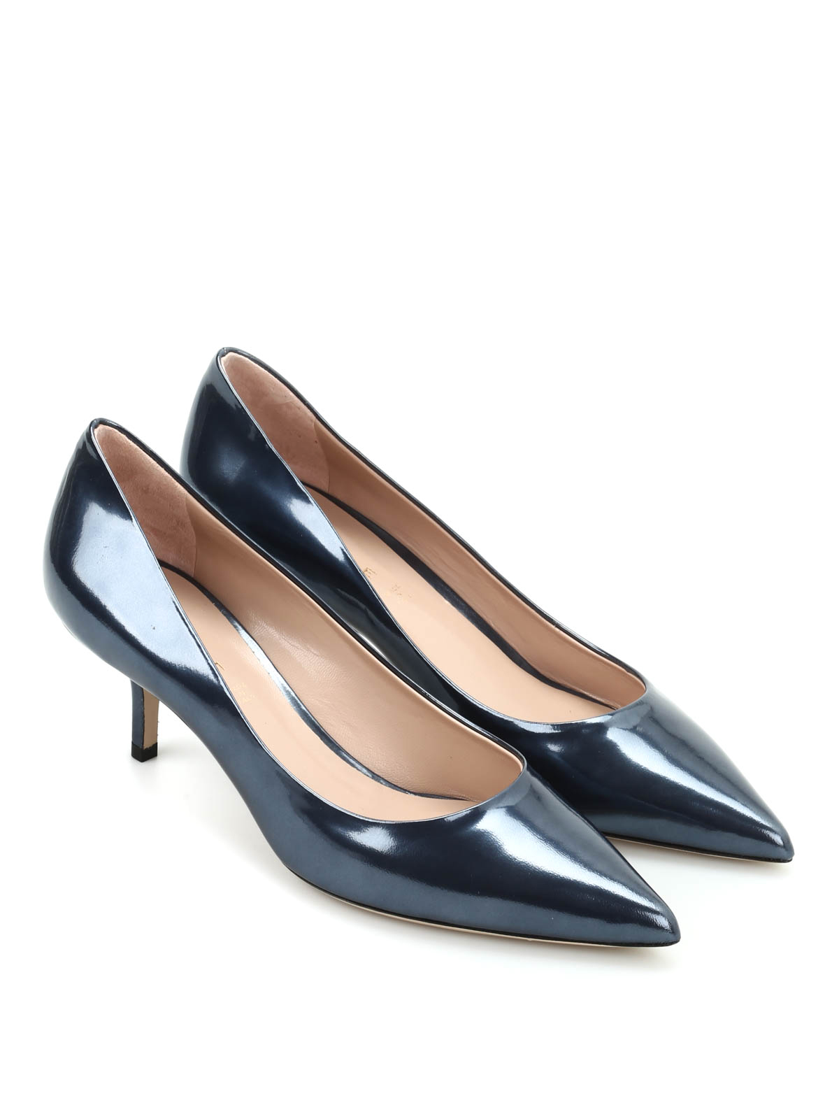Metal Effect Pump By Dei Mille - Court Shoes | IKRIX