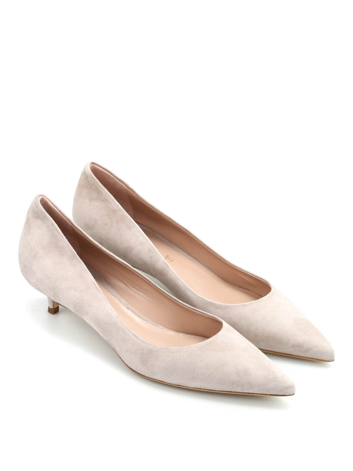 Suede Pump By Dei Mille - Court Shoes | IKRIX