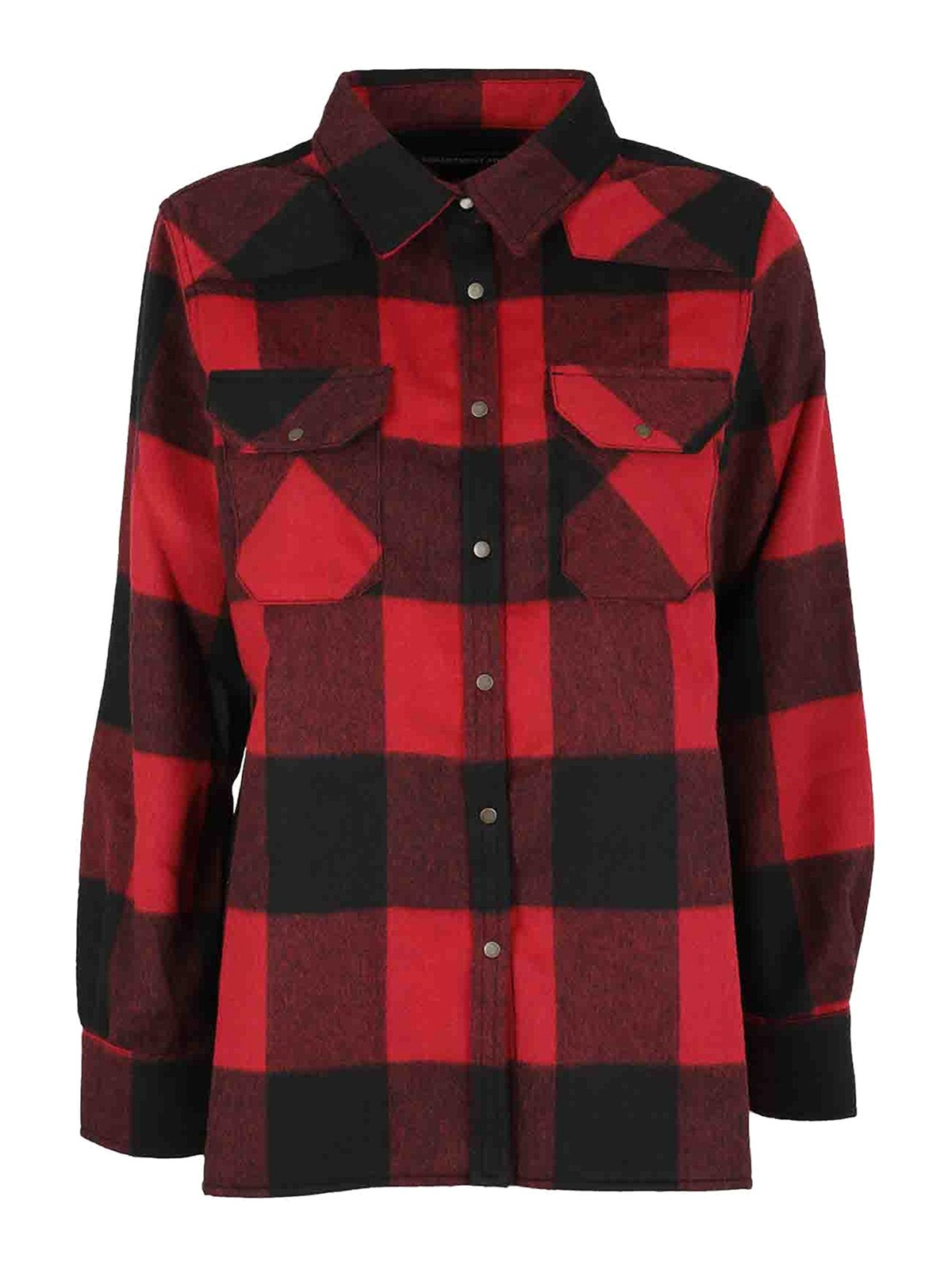 Department 5 CHECKED FLANNEL SHIRT