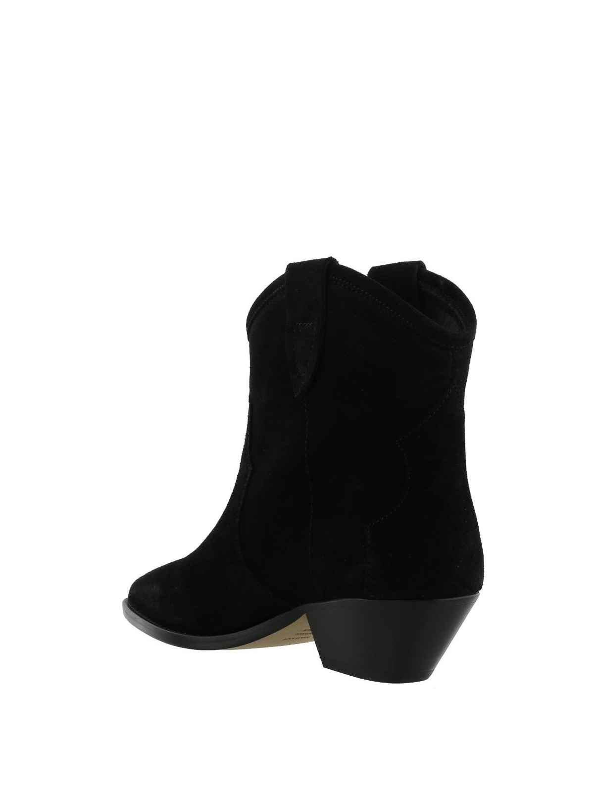 4f920bec832 Isabel Marant - Dewina suede boots - ankle boots - BO017418A009S01BK