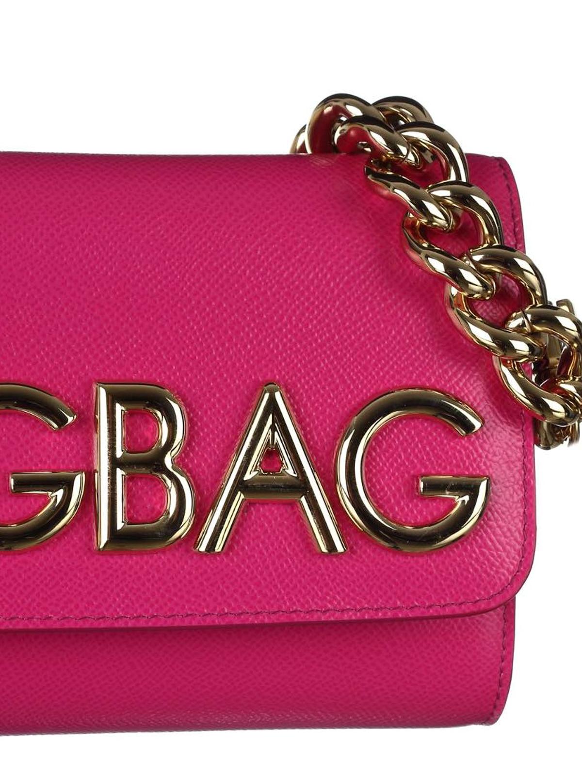 Fuchsia DG girls bag Dolce & Gabbana PaRVBXU