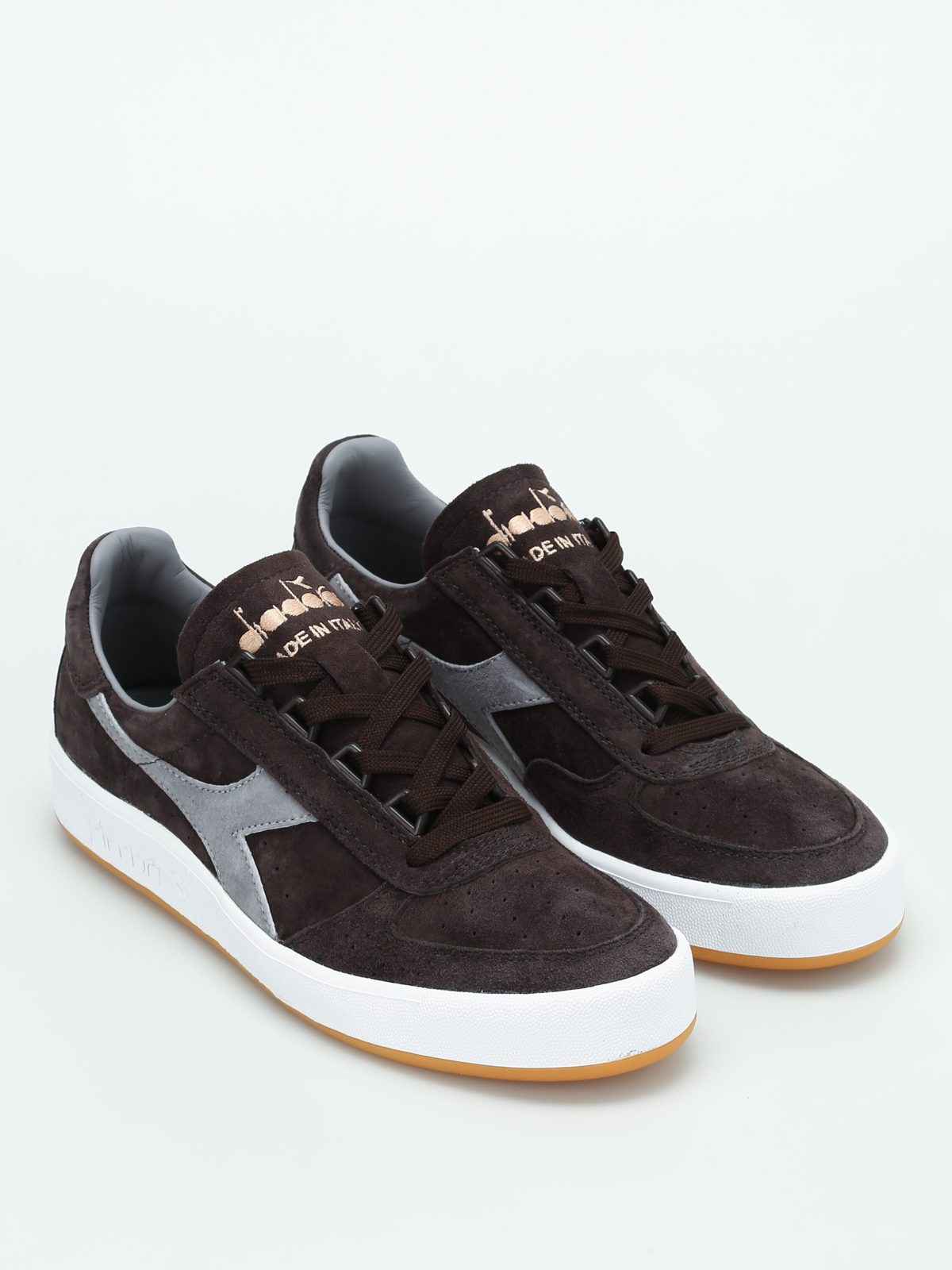 Diadora B. Elite Italia Suede Brown After Dark Uomo Sneakers Basse