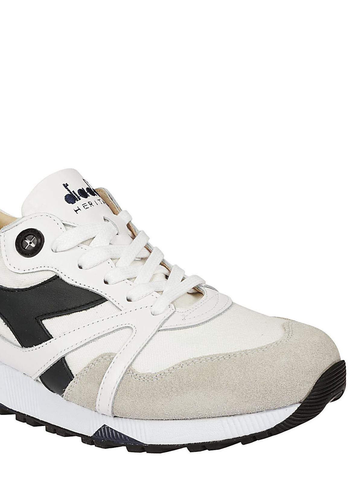 purchase cheap 51e53 8221b Diadora - Sneaker N9000 H Ita bianche - sneakers - 201172779 ...