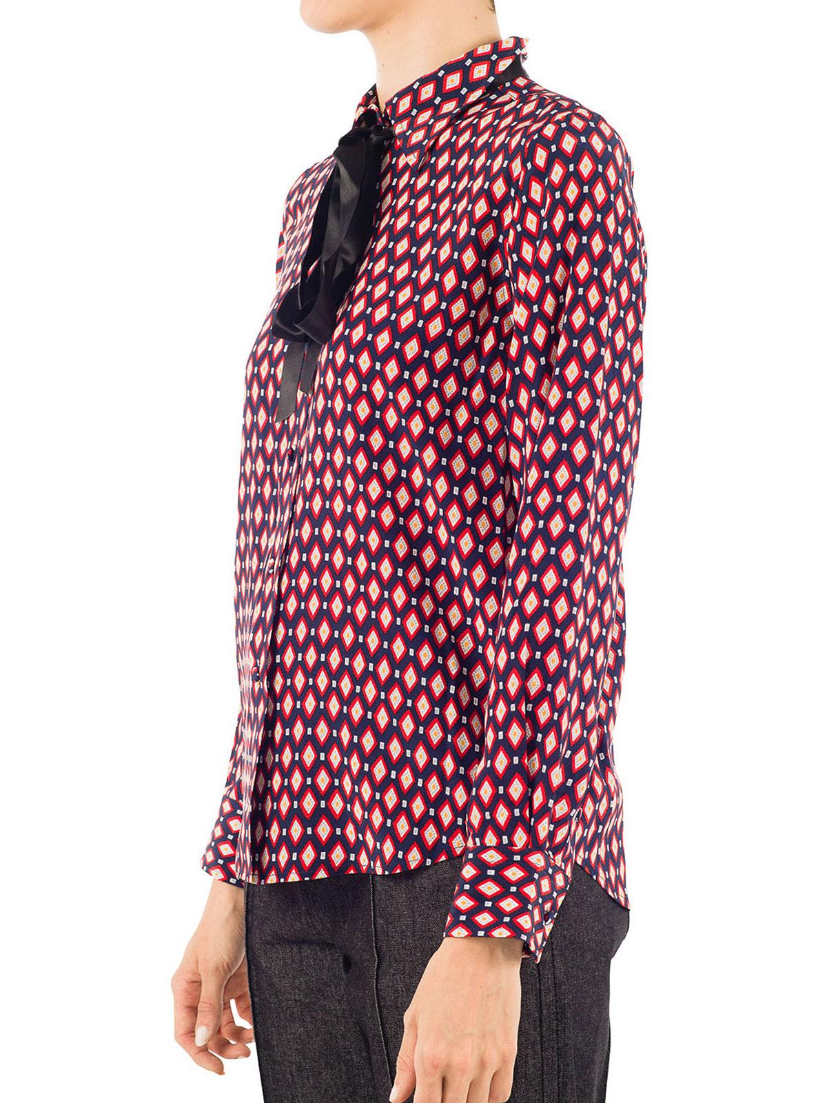 Marc Jacobs - Chemise Rouge Pour Femme - Chemises - M4005755 270 1870dc5caa69