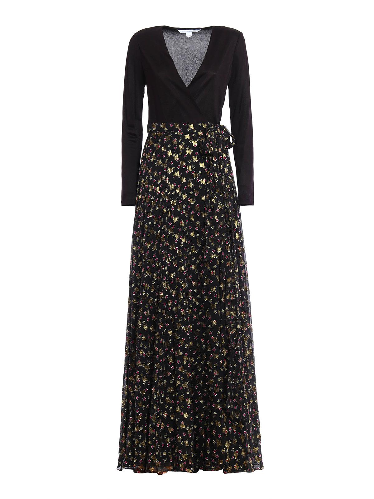 Aviva long dress by Diane Von Furstenberg - evening dresses  iKRIX