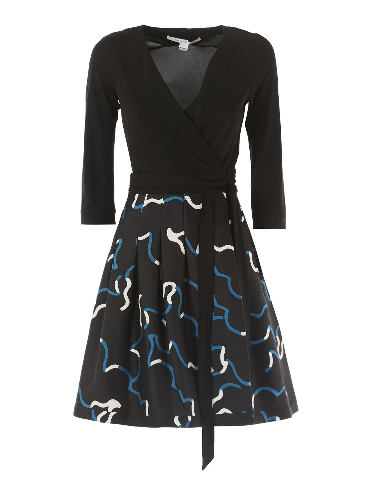 Jewel silk blend wrap dress by diane von furstenberg for Diane von furstenberg clothes