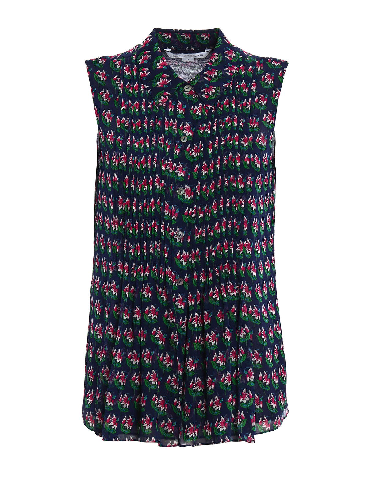 Blakely Sleeveless Shirt By Diane Von Furstenberg Shirts