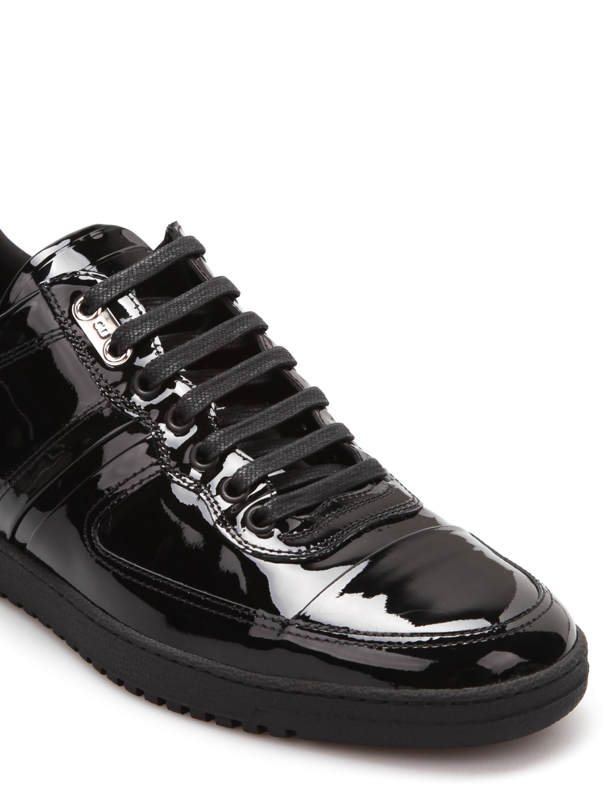 Dior Patent Leather Trainers e9nAFxT