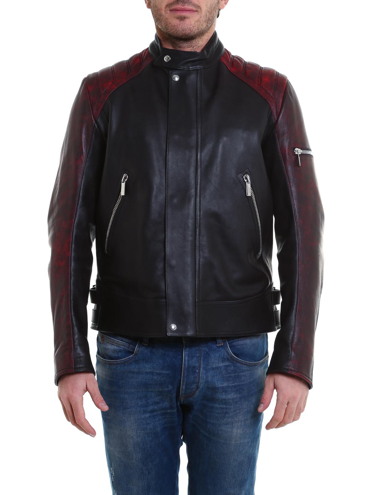 low cost 5db14 20789 Dior - レザーコート メンズ - 黒 - レザージャケット ...