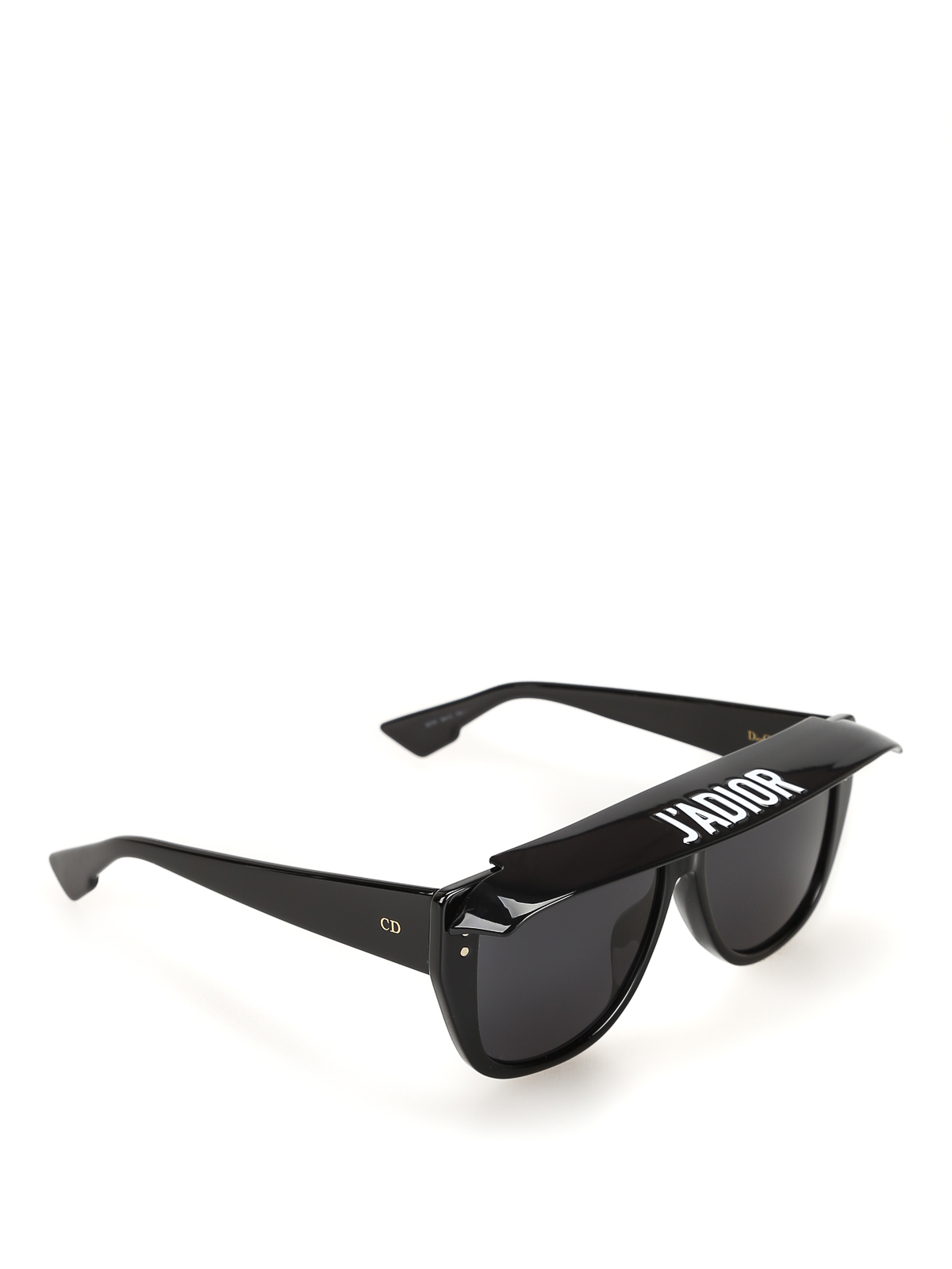 Dior Club2 Sunglasses With Visor In Black