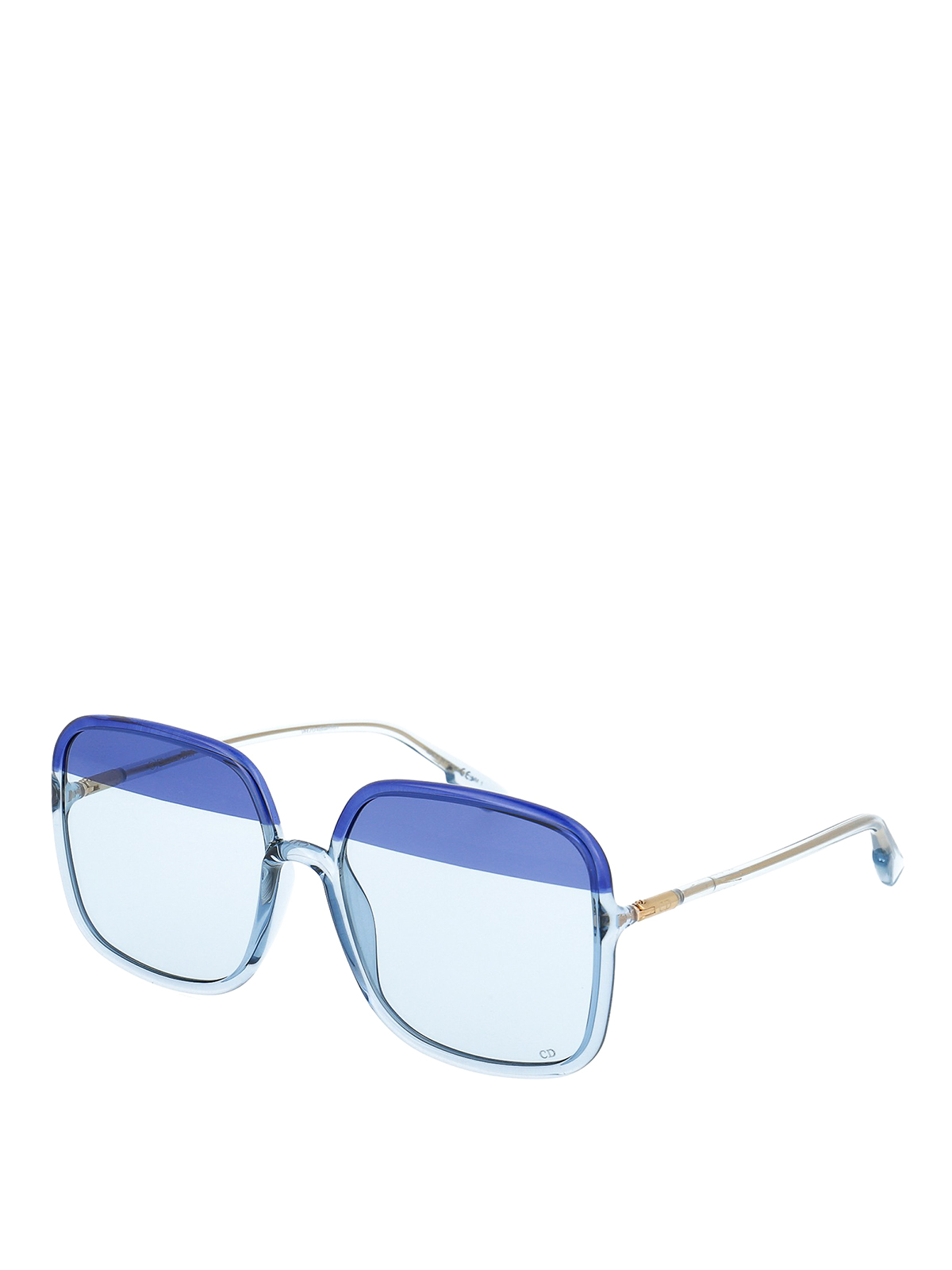 Dior Stellaire1 Two-Tone Lens Sunglasses In Blue