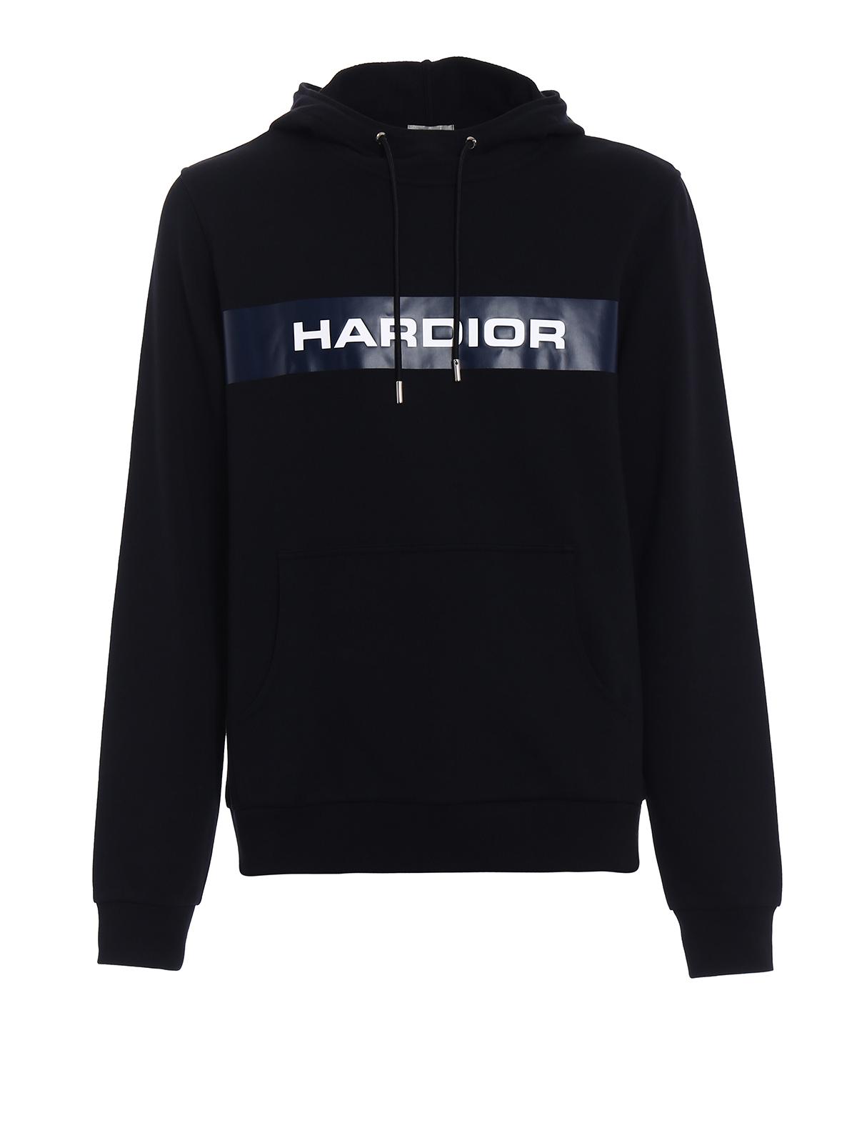 rivenditore online 4e3f8 65cd3 Dior - Felpa in cotone con banda Hardior - Felpe e maglie ...