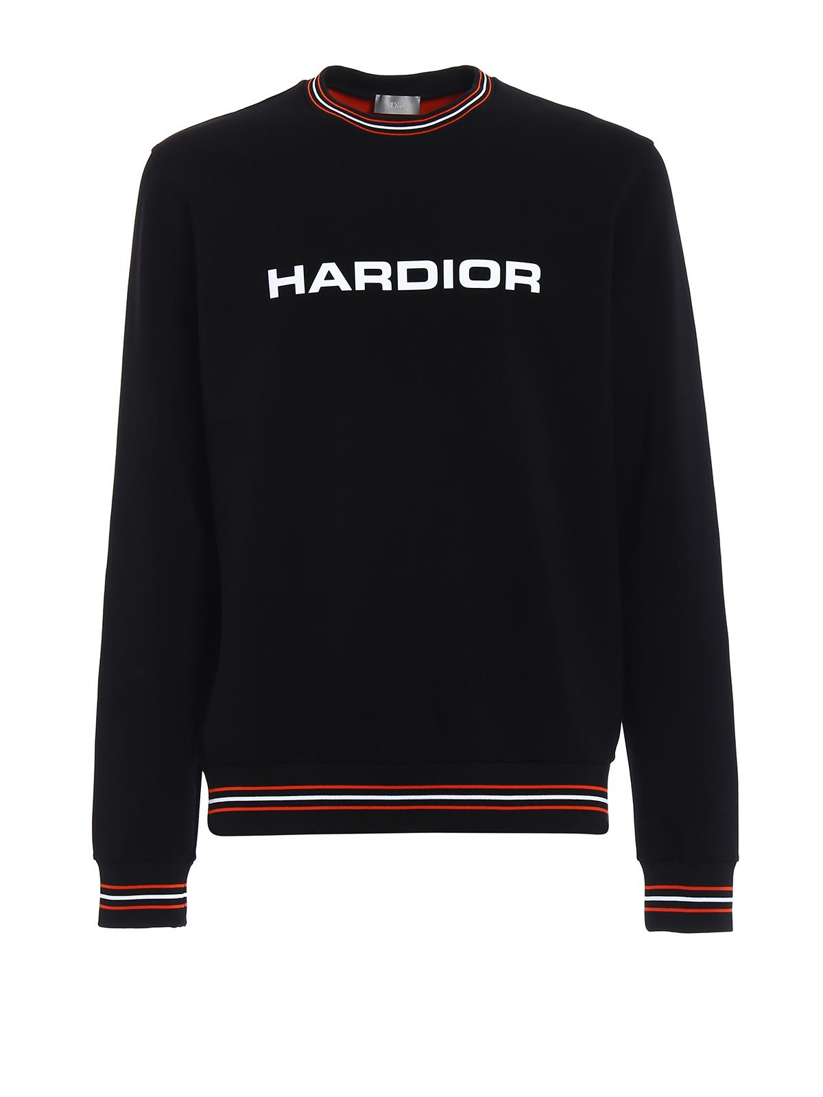 miglior sito web 5c5e2 ce0d1 Dior - Felpa Hardior in doppio jersey - Felpe e maglie ...
