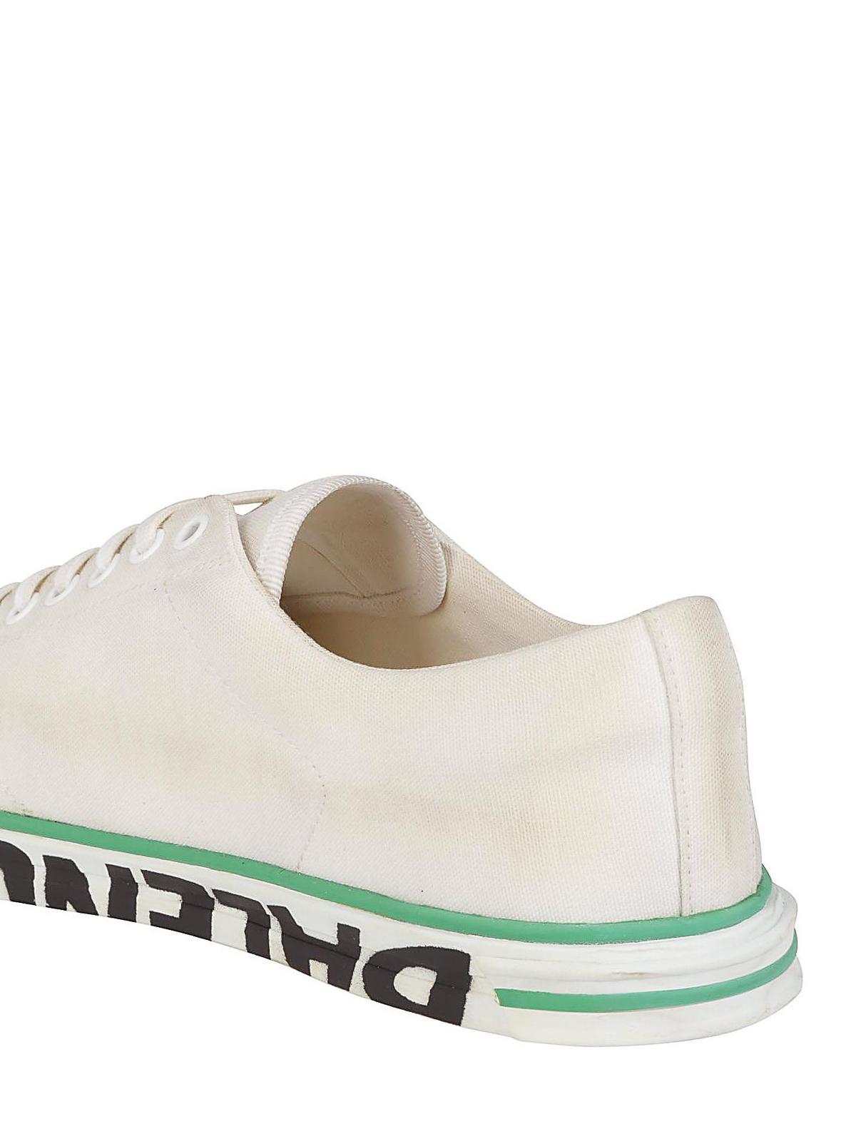 57a106b2297b6 Balenciaga - Sneaker in tela di cotone effetto sporco - sneakers ...