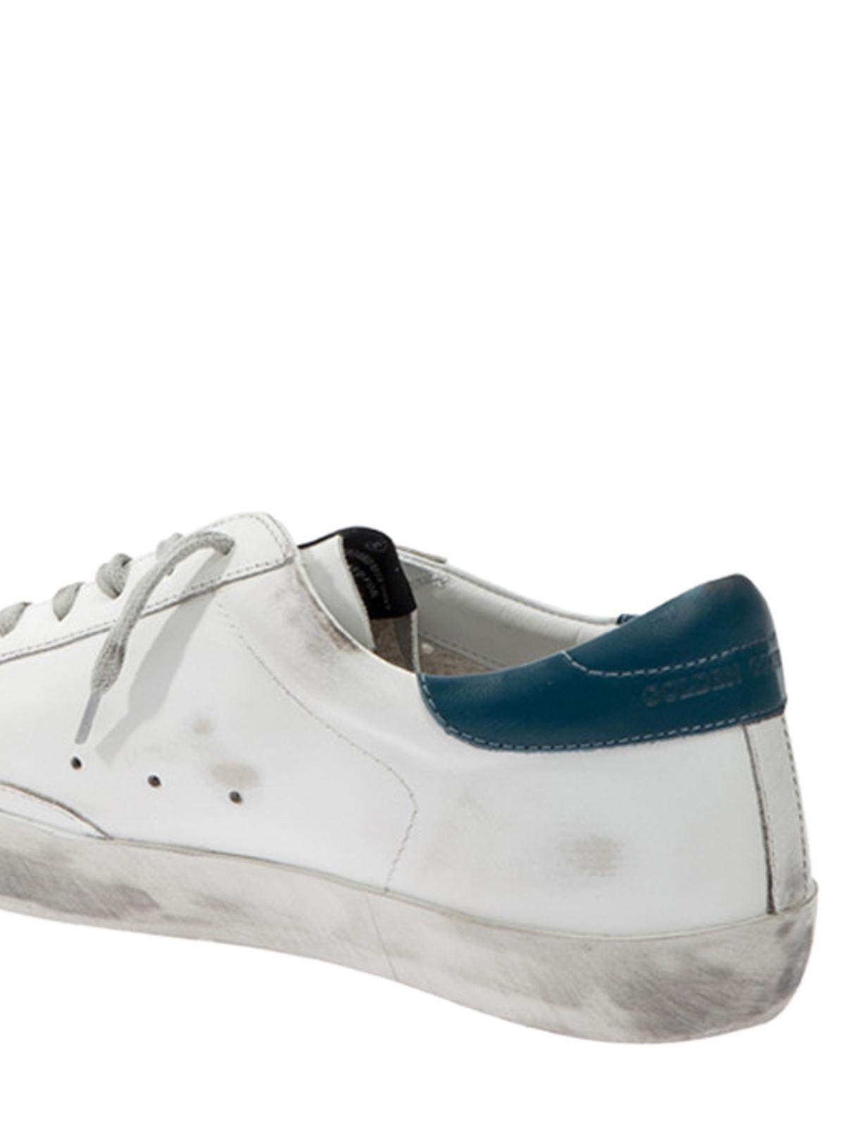 Golden Goose Sneaker in pelle effetto usato sneakers