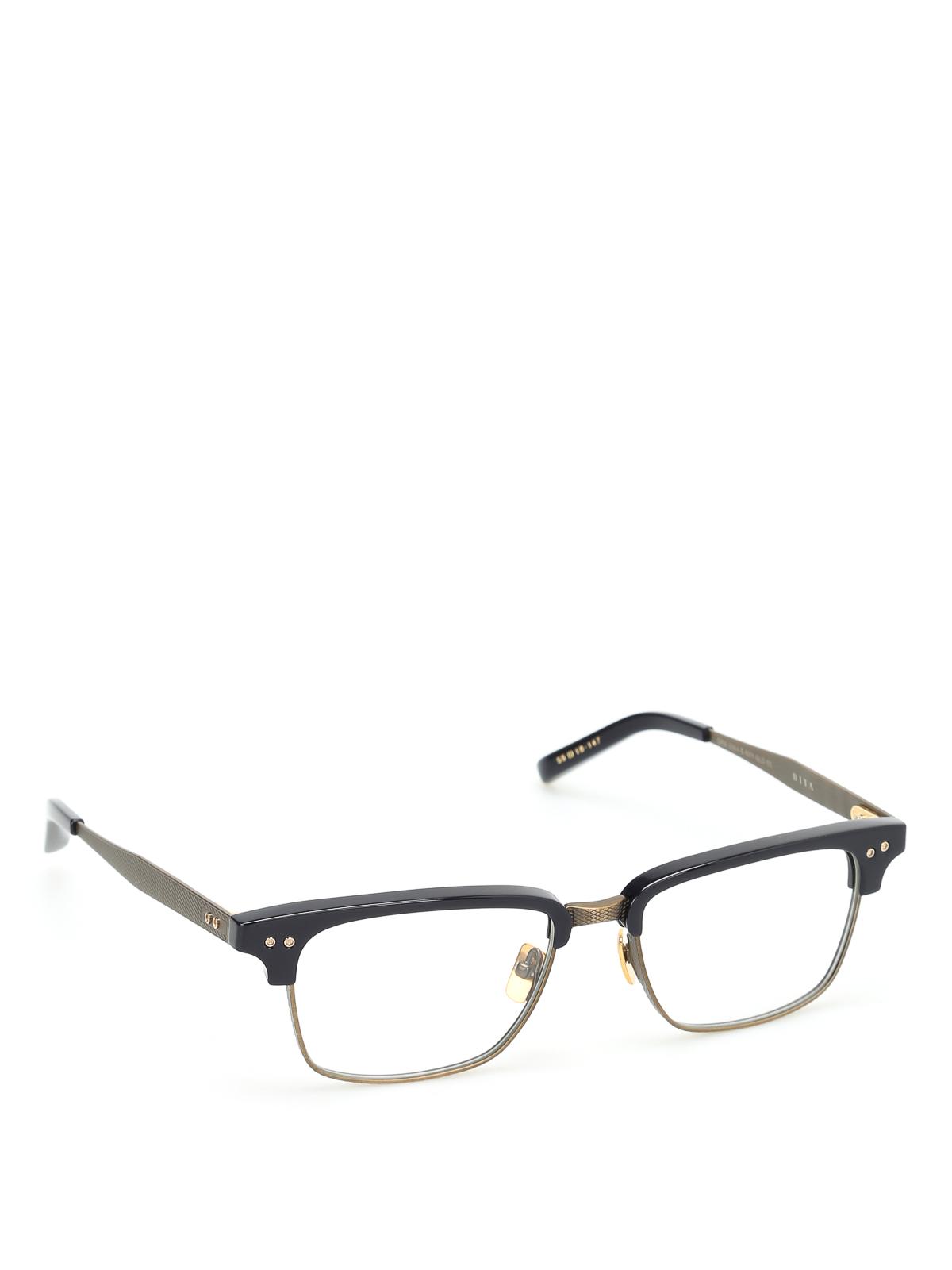 186df3b68b6 Dita - Statesman Three optical glasses - glasses - DRX 2064E NVY GLD