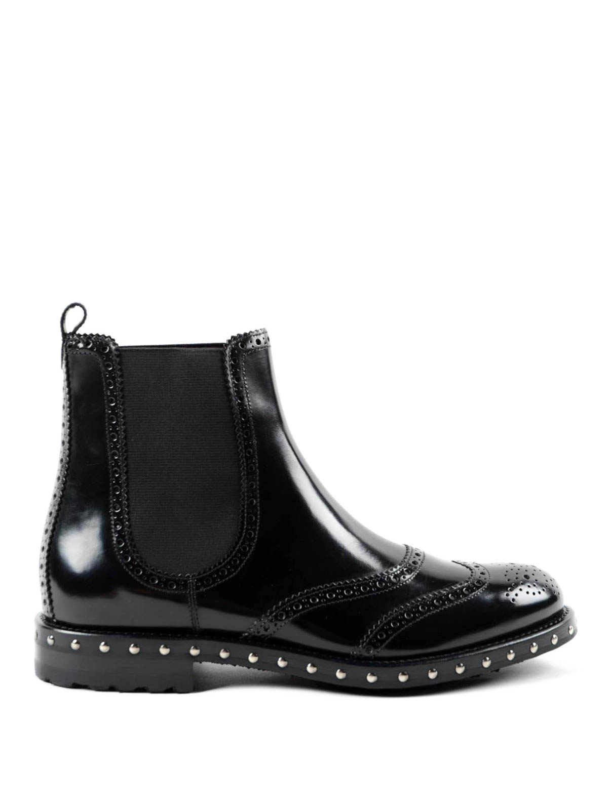Dolce & Gabbana Brogue Chelsea boots wd59S