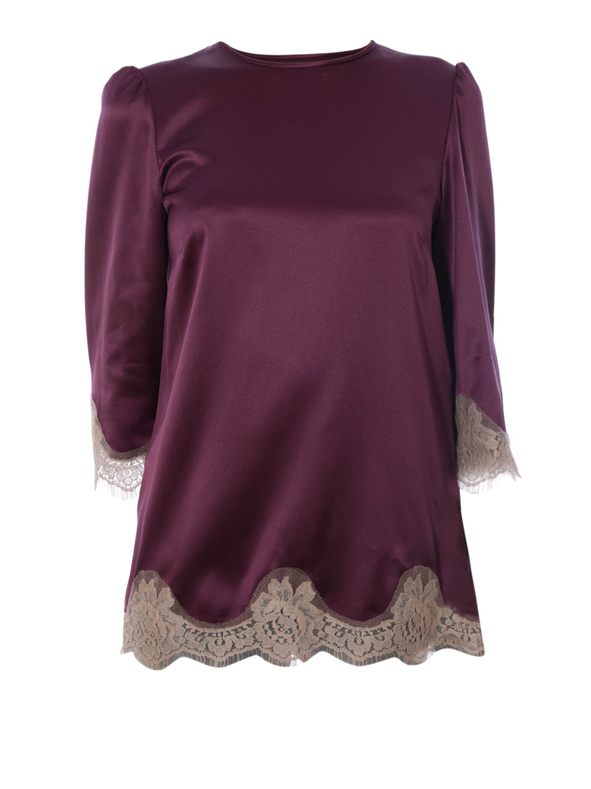Satin Lace Blouse 19