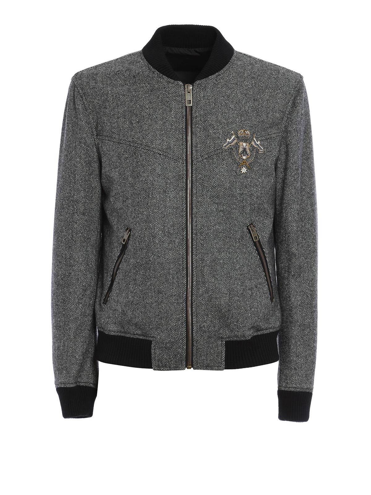 88ff7d83c Dolce & Gabbana - Heraldic Sicilia wool bomber jacket - bombers ...