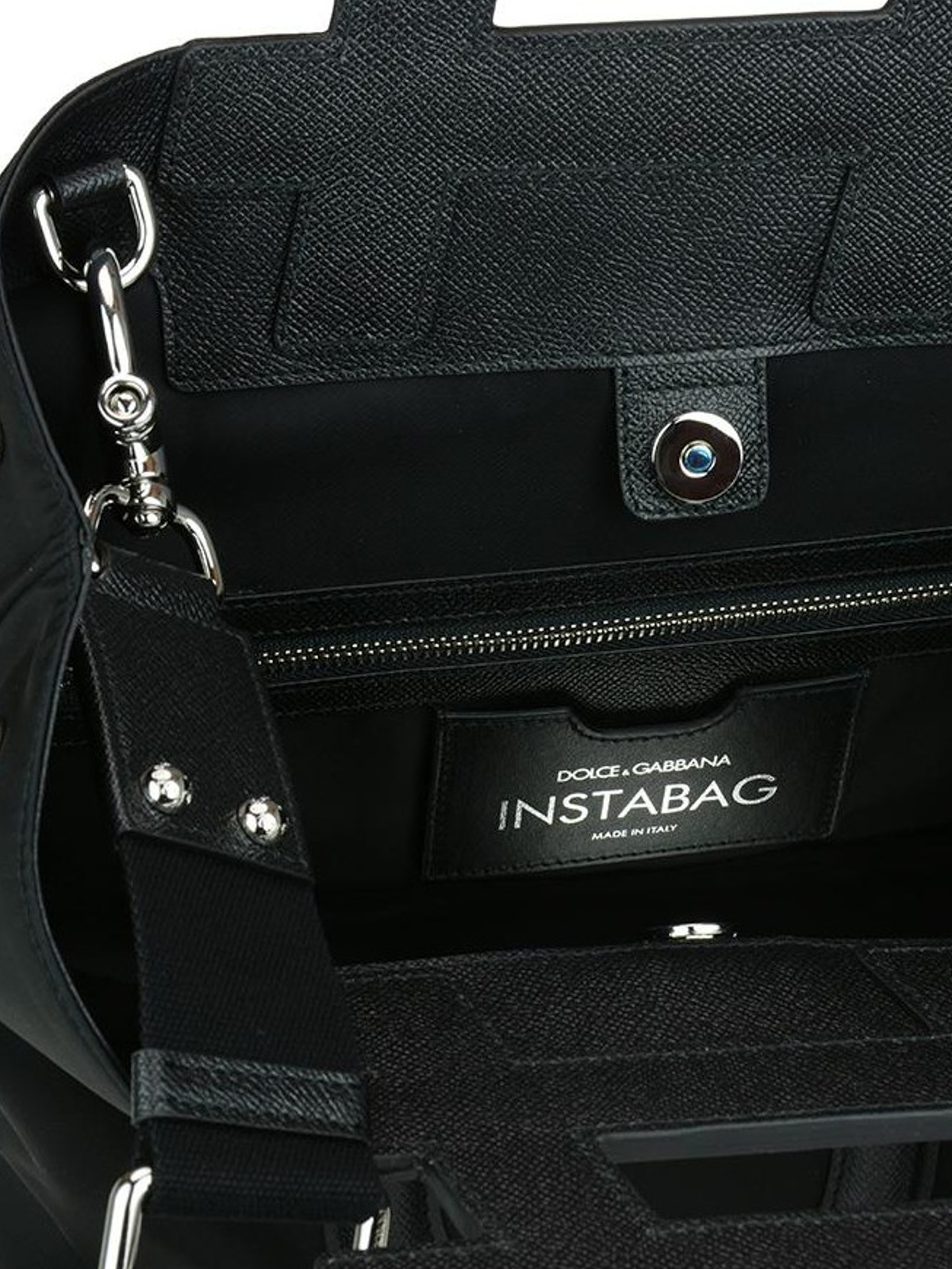 Dolce & Gabbana Black nylon and leather Instabag SK1HetrcR