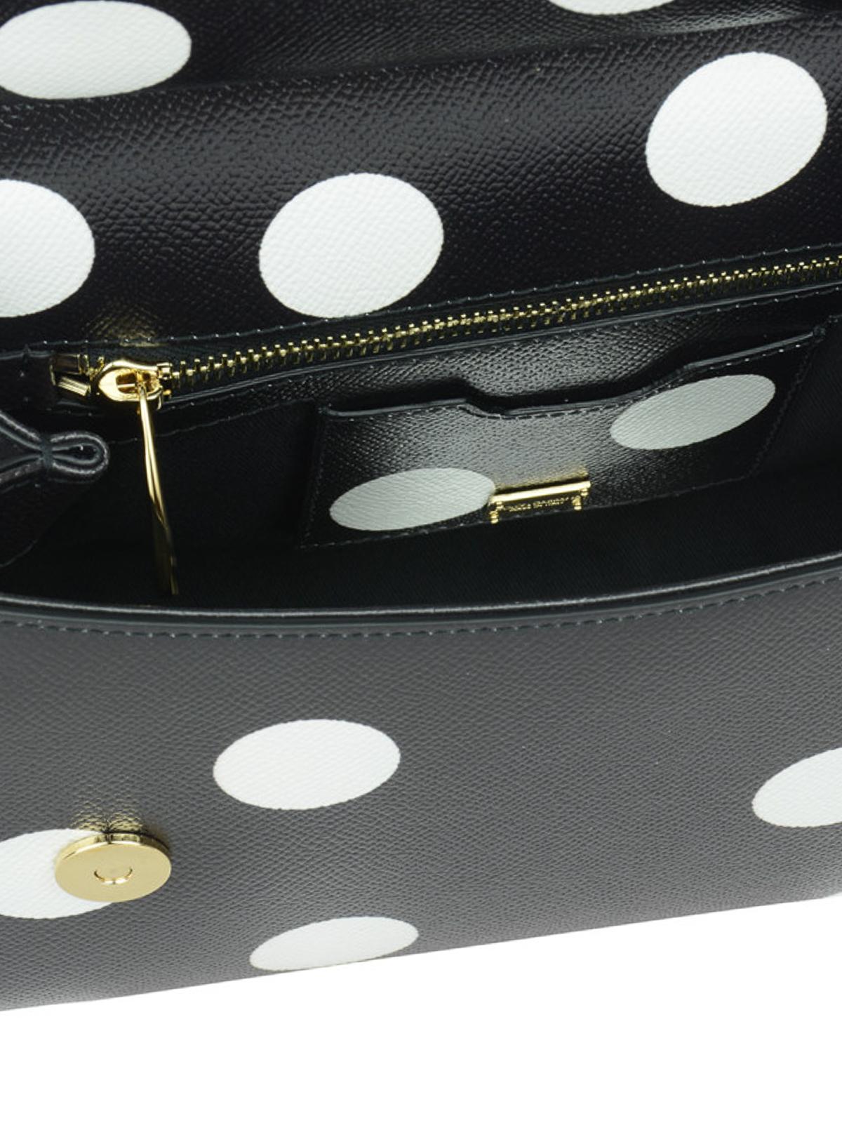 Dolce   Gabbana - Floral polka dot Sicily Medium bag - totes bags ... 3f44c637e3631