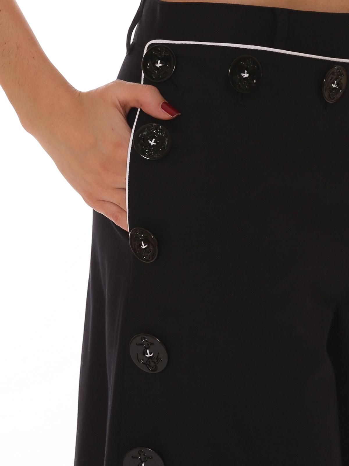 best loved 847ae c3e32 Dolce & Gabbana - Pantalone corto in stile marinaro ...