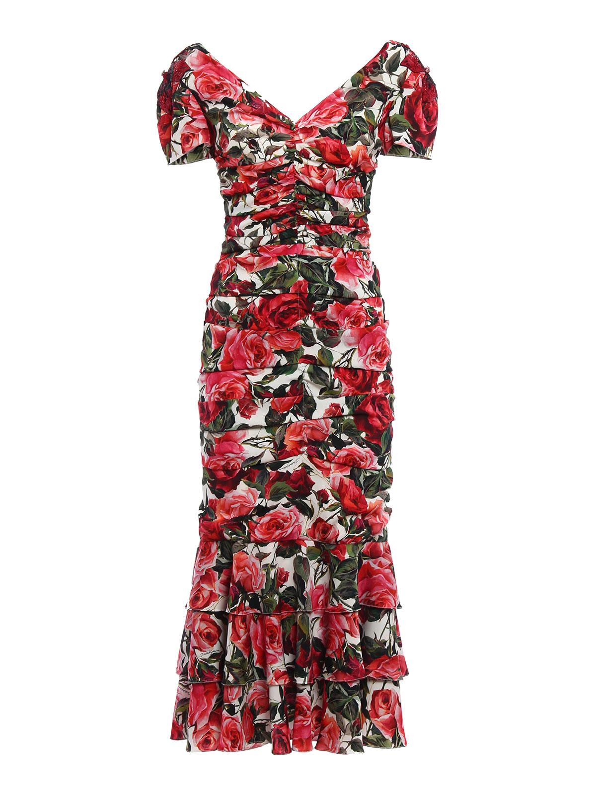 Silk sheath cocktail dress