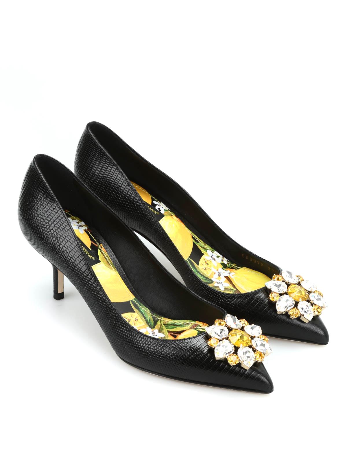 leather pumps by dolce gabbana court shoes