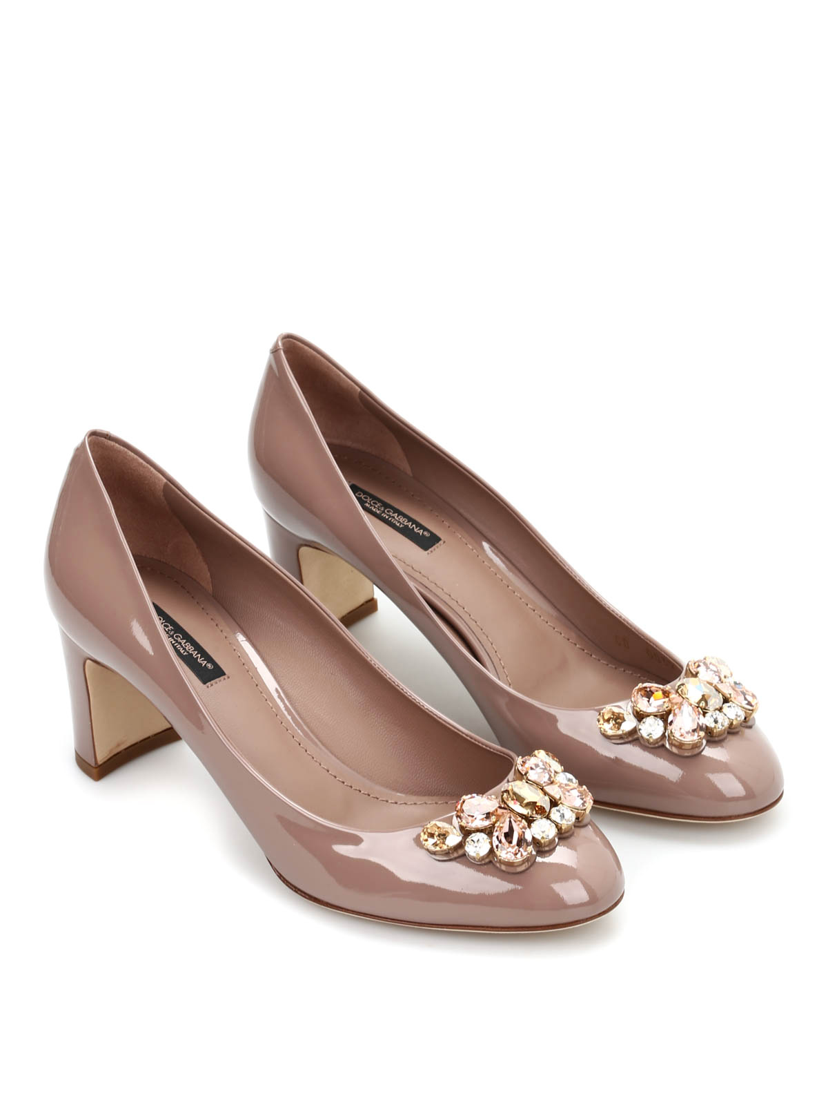 patent leather court shoes by dolce gabbana court